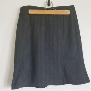 Sandra Angellozi pinstripe skirt